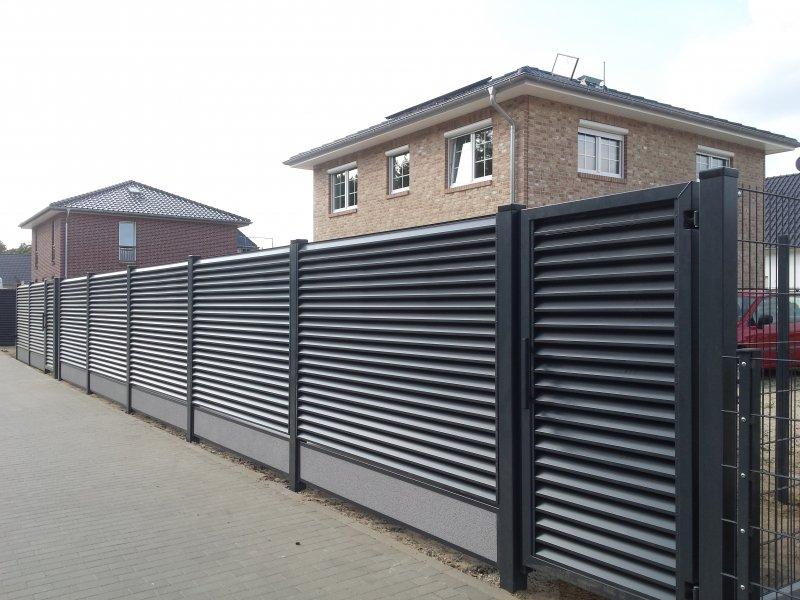 Забор жалюзи gnumetal.ru